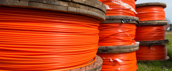 GPON fibre optic cabling