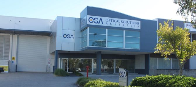 Optical Solution - Strategically located warehouses