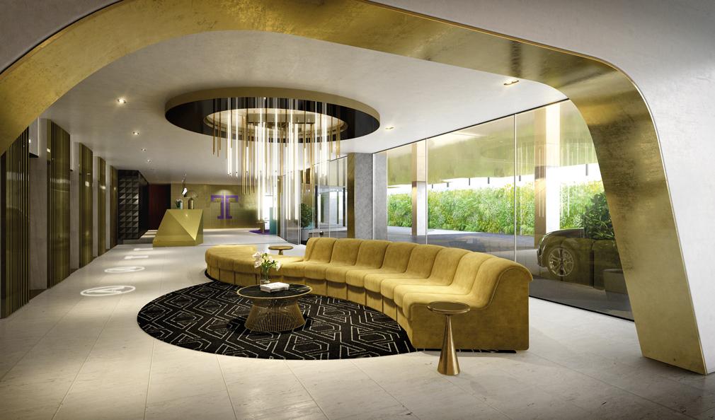 Arthur Apartments Foyer