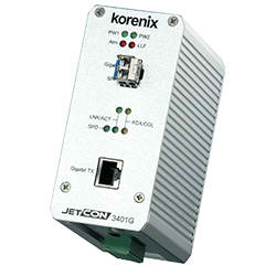 Industrial Gigabit Ethernet Media Converter