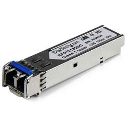 1 GigE SFP Transceiver Module, Single Mode, LC 1310nm, 10Km, I-Temp (Keyed),