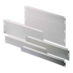 DK Blind-Panel 2HE RAL 7035