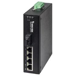 Industrial 4xFE PoE + 1xFE SC Single-Mode 30KM Switch