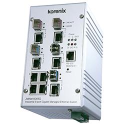Industrial 9G Gigabit Managed Ethernet Switch JetNet 6059G