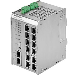 Modular Industrial Gigabit Ethernet Basic-Switch