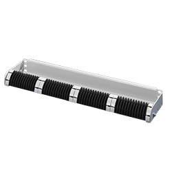 DK Fibre-Optic 1U 19″ Cable | Management Panel
