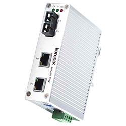 Port Fast Ethernet to Fiber Media Converter
