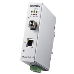 Industrial Gigabit Ethernet Media Converter