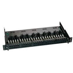 P/Panel 25 Port Voice 1RU Slide Out