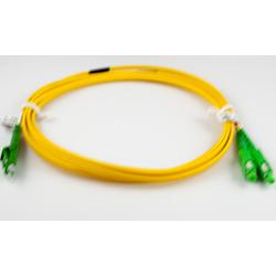 2m LCA-SCA S/M Duplex Patch Lead