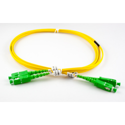 2m SCA-SCA S/M Duplex Patch Lead