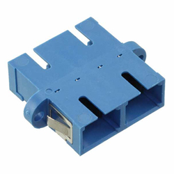 Adaptor SM SC Duplex Ceramic Blue
