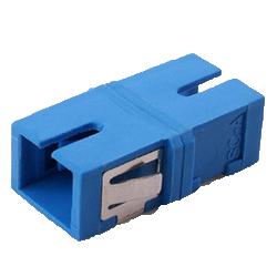 Adaptor SM SC Simplex Ceramic Blue (Flangless)
