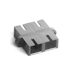 Adaptor MM SC Duplex Metal Beige