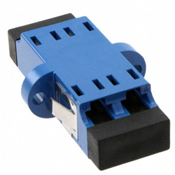 Adaptor SM LC Duplex Ceramic Blue