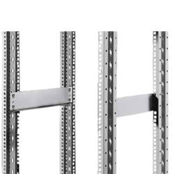 DK SLIDE RAIL FOR DATA RACK, Solid Roof and Gland Plates