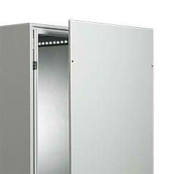 IP 55 TS Side Panels 2000X1000 RAL7035 Screw Fix 2000HX1000D Pair