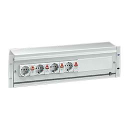 DK7480 Power Box 3U RAL 7035 DK Energy Box, 3U