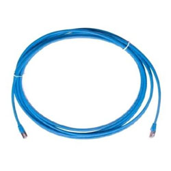 P/Cord Highband C6 RJ45x2 2.1M Blue Bag of 2