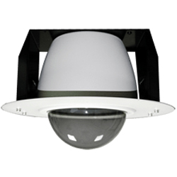 Indoor Recessed Dome for Mini Box Camera (Smoke Cover) VIV-AE-202