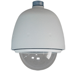 Outdoor Dome Housing With Transparent Cover (12VDC Input) (US) VIV-AE-251