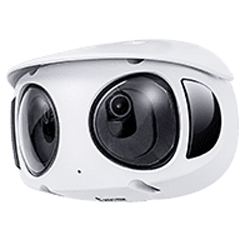 Multi-Sensor Dome Network Camera – MS9390-HV
