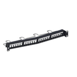 24 port Angled Unloaded SL Series patch Panel