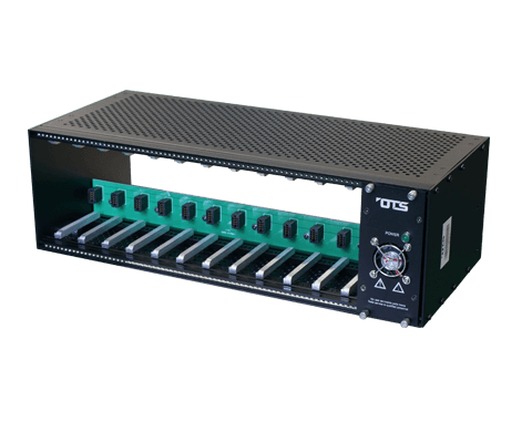 Rack Mount Chassis for OT Systems Media Converter
