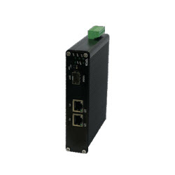Hardened – Self Config Gb SMART PoE Switch, 3 Port