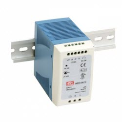 Industrial DIN Mounted, 100Watt, 12VDC