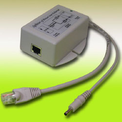 Single Port 36 ~ 60Vdc PoE Input, 5VDC, 25 Watt 802.3af/at