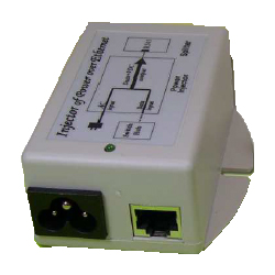 Single Gb Port 100-240VAC Input, 48VDC, 24 Watt