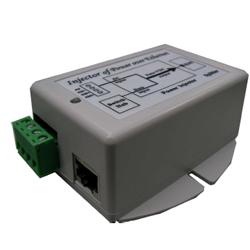 Single Port 18-28VAC Input, 48VDC 16.8 Watt, 802.3af