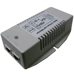 Single Port Gb 18-36VDC Input, 56VDC, 50 Watt EN60945/50155 Certified, 802.at/af