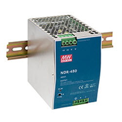 Industrial DIN Mounted, 480Watt, 48VDC