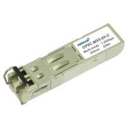 1.25Gbps SFP, MMF, 850nm, LC, 550Meter Reach +70 Deg C