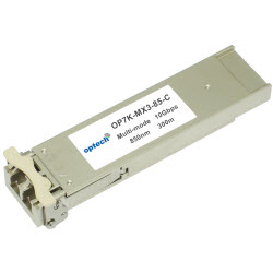 10Gbps XFP, MMF, 850nm, 300 Meter Reach +70 Deg C