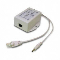 Single Port 36 ~ 60Vdc PoE Input, 24VDC, 25 Watt 802.3af/at