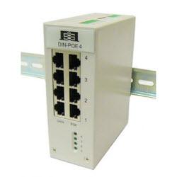 4 x GB Port PoE 44-57VDC, 35 Watts per port, 802.3af/at
