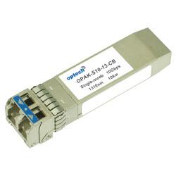 10Gbps SFP+, 10G Base-LR, SMF LC, 1310nm, +70 Deg C