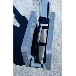The TeraSpan packing wheel is designed to effectively compact backfill material (usually a premium grade of cold asphalt) in a microtrench.
