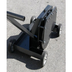 The TeraSpan Large Packing Wheel is designed to effectively compact backfill material (usually a premium grade of cold asphalt) in a microtrench