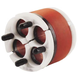 Jackmoon Quadplex Duct Plug, size 5, 34.5 mm maximum cable diameter