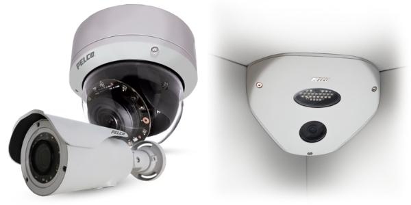 Pelco CCTV cameras