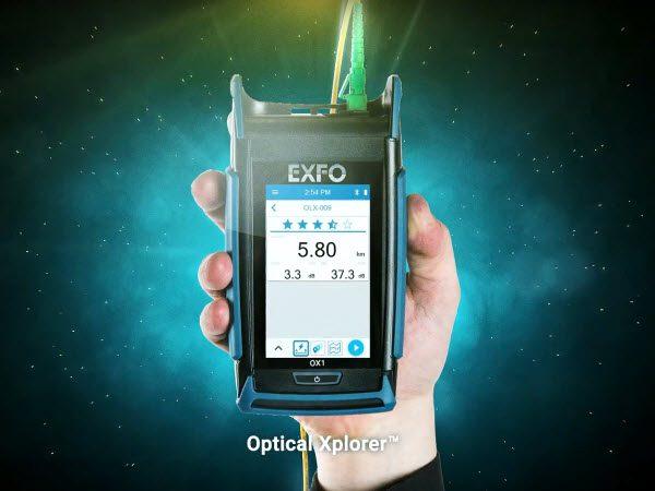 First optical fibre multimeter