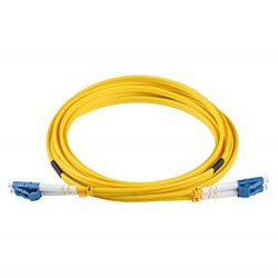 LC to LC SM Duplex Fibre Optic Patch Lead