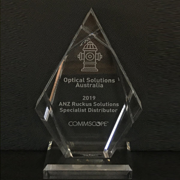 OSA at ANZ Ruckus Solutions Awards