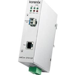 Industial JetCon3701GP-U Media Converter Gb IEEE802.3bt PoE 90 Watt