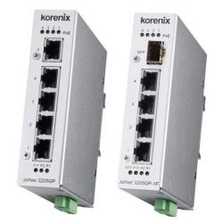 Industial JetNet3205GP-2C 5x Gb 112Watt PoE Unmanaged