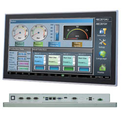 Industrial Touch HMI IPC Panel Computer 15 to 21.5 Inch, Aluminium/Stainless Steel